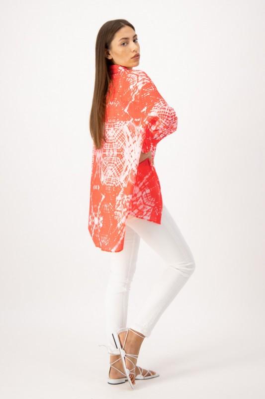 Longbluse mit Batik Muster von LOUIS and MIA