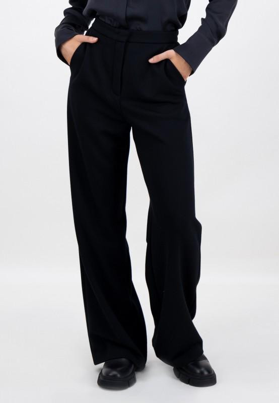 Schwarze Hose mit hohem Bund von LOUIS and MIA