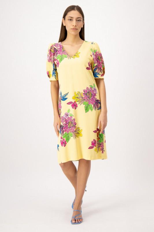 Viskose Kleid mit Blumenmuster von LOUIS and MIA