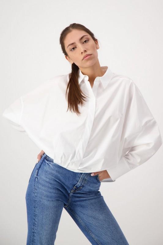 Oversize Hemd für Damen in Weiß von LOUIS and MIA