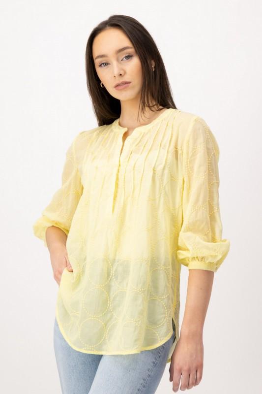 Leicht transparente Tunika aus Baumwolle von LOUIS and MIA