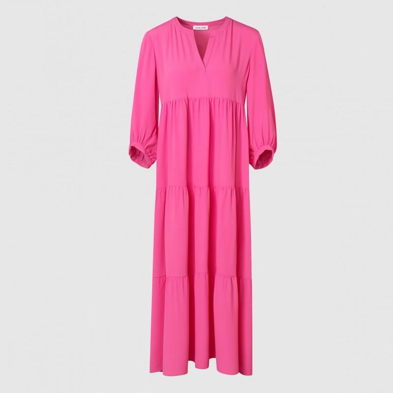 Pinkes Sommerkleid aus hochwertigem Material von LOUIS and MIA