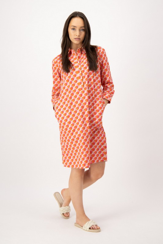 Kleid mit Blusenkragen von LOUIS and MIA
